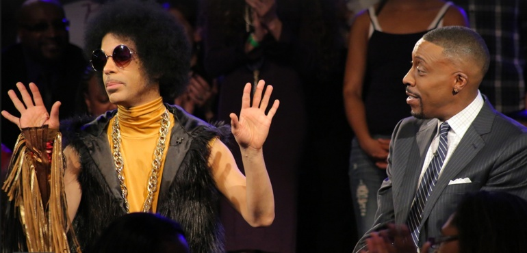 Prince at Arsenio Hall