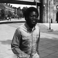 Michael Kiwanuka, A Black Man In A White World